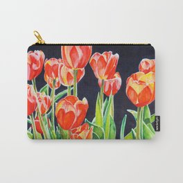 Tulip Translucence Carry-All Pouch