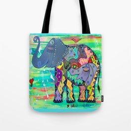 ENIGMA ELEPHANTE Tote Bag
