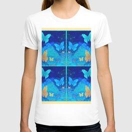 Classy Butterfly Origami Window Print T-shirt