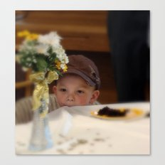 Sweet Boy Canvas Print