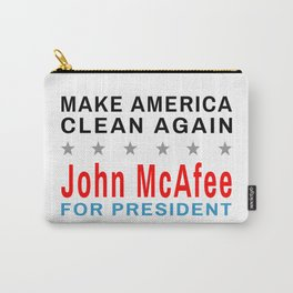 McAfee - Make America Clean Again Carry-All Pouch