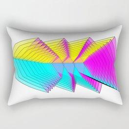 Cubes 4 Rectangular Pillow