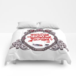 Who is the naughtiest of them all? Comforters