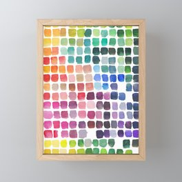 Favorite Colors Framed Mini Art Print