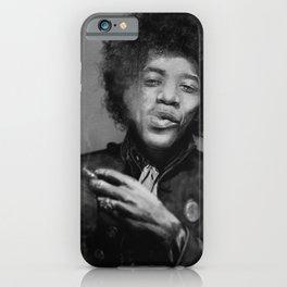 Chilling Hendrix iPhone Case