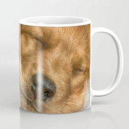 Sleeping Puppy Coffee Mug