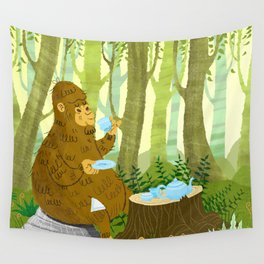 Bigfoot Busted Wall Tapestry