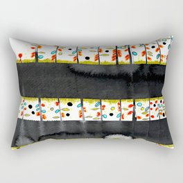 so many flowers Rectangular Pillow