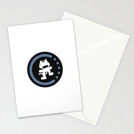 MonsterCat logo  Stationery Cards