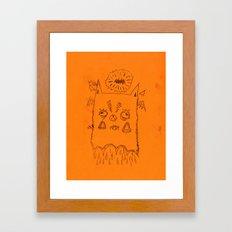 bastardo Framed Art Print