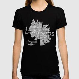 Las Vegas Map T-shirt