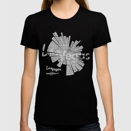 Las Vegas Map T-shirt