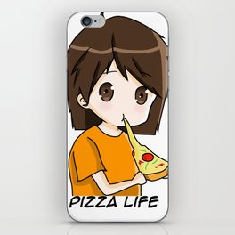 Pasta's Pizza Life iPhone Skin