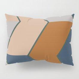 Modern Fall Winter Color Pattern Pillow Sham