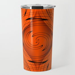 Tangerine Travel Mug