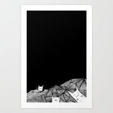 Kitty Kat Art Print