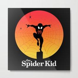 The Spider Kid Metal Print