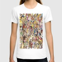 cartoon T-shirts featuring Cartoon Collage by Myles Hunt