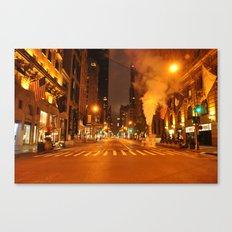 5th Ave 2:00AM Canvas Print