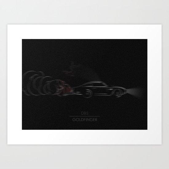 DB5 Art Print