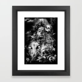 tortured souls Framed Art Print