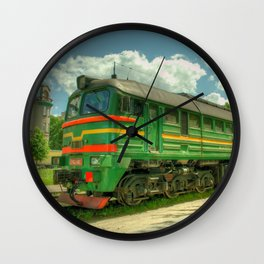 Latvian Loco double Wall Clock