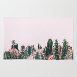 Pink Blush Cactus Rug