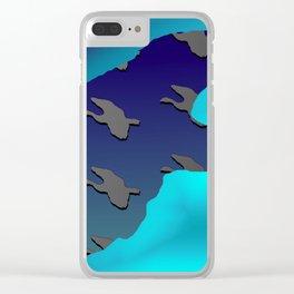 Bird and birdies 1 ... Clear iPhone Case