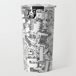 Fucked ( All Over ) Jx3 T-Shirt Travel Mug