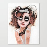 rocky horror Canvas Prints featuring Untitled III by Rouble Rust