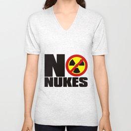 NO_NUKES Unisex V-Neck