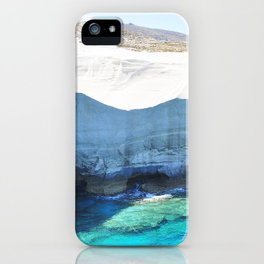 250. Moon Walk, Greece iPhone Case