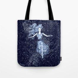 Starlight Swimmer Tote Bag