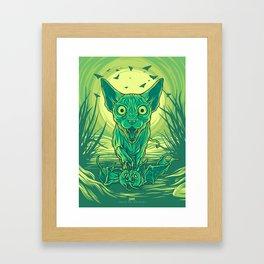 Lovely Dark Creatures series - Hortus Framed Art Print