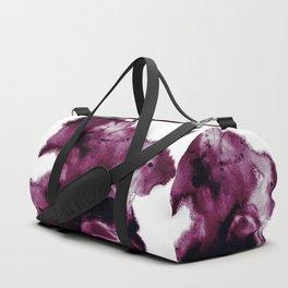 Black Cherry Scape Duffle Bag