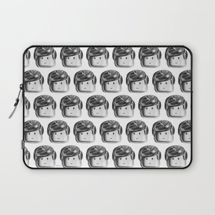 Minifigure Pattern Laptop Sleeve