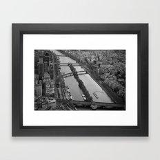 bridges to cross.. Framed Art Print