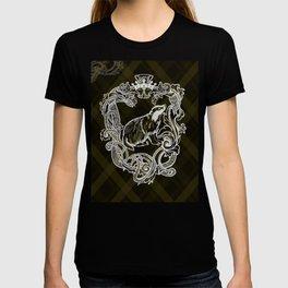 Shield yellow Badger T-shirt