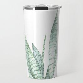 Watercolor botanical print Travel Mug