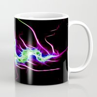 lightning Mugs featuring Lightning by Brian Raggatt