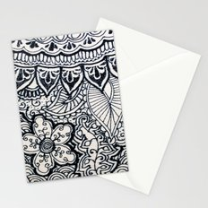Four sides of a box (iii) Stationery Cards