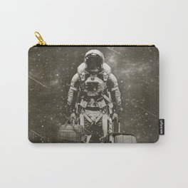 Space Traveller sepia Carry-All Pouch