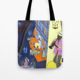 New Orleans, here music is being born, every day anew (My dreams of America part2) Tote Bag