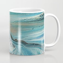 Pearl marble abstraction Coffee Mug