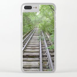Train to Nowhere Clear iPhone Case