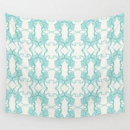 Blue Octacluar Octopus Wall Tapestry