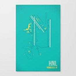 HNL Canvas Print