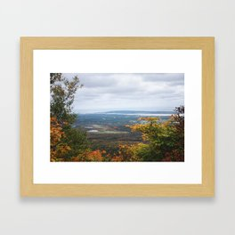 Views from above Framed Art Print
