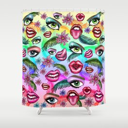 Realm Of Senses Shower Curtain
