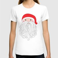 santa T-shirts featuring Santa by Doucette Designs